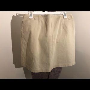 AT denim skirt